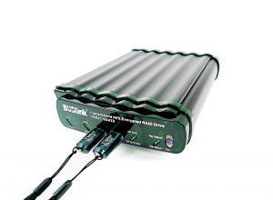 Dual Keys 256-bit AES RAID 0 USB 3 1 Gen 2/eSATA SSD